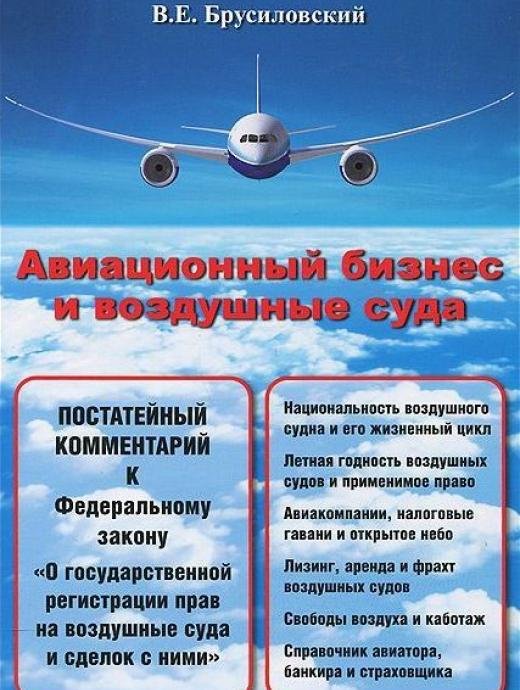 Aviation business and aircraft