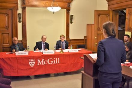 """McGill Air Law """"Speed Moot"""" Competition успешно запущен"""